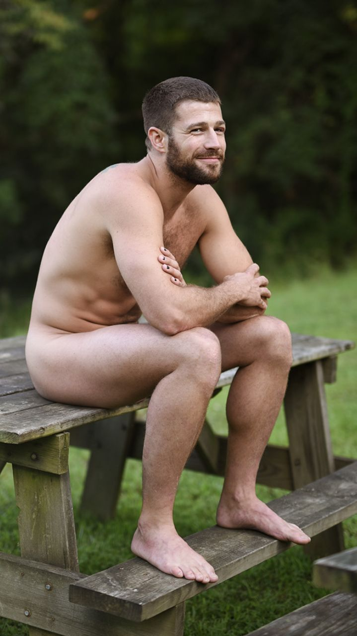 HOT GUYS CAMPING / Andrew Christian